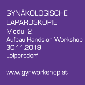Aufbau-Workshop: Gynäkologische Laparoskopie, Hands-on Training an Organen
